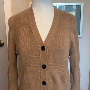 Burberry Wool-cashmere Cardigan